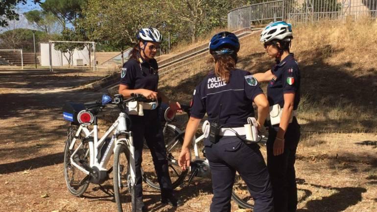 Nuove bici a pedalata assistita per la Polizia Locale di Ciampino