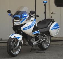 La Polizia Locale di Ciampino rinnova il parco mezzi motociclistico