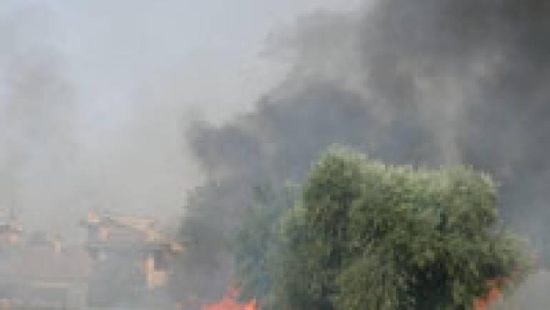 Incendio in Via Marcandreola