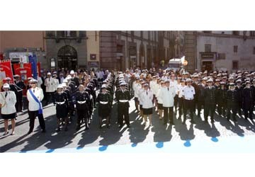La Polizia Locale di Ciampino alla prima festa della P.L. del Lazio