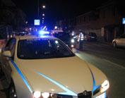 """Operazione """"Halloween 2011"""" sulle strade di Ciampino. Ritirate oltre 40 patenti, una balestra e sostanze stupefacenti per uso personale nei pressi delle discoteche e delle principali arterie cittadine."""