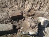 Polizia Locale interrompe un abuso edilizio dal quale viene alla luce un acquedotto di epoca romana