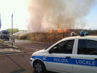 Incendio in Via dell'Ospedaletto
