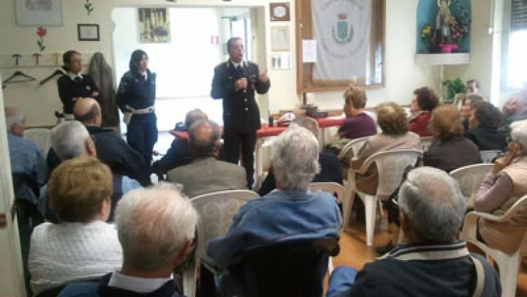 Truffe agli anziani: la Polizia Locale nei centri anziani
