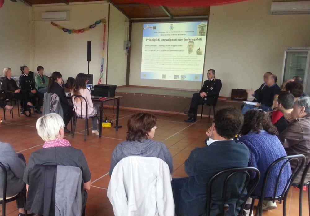 Il Comune di Ciampino inizia l'attuazione del Piano di prevenzione alla corruzione 2013/2015