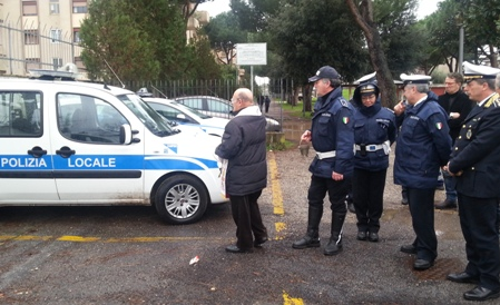La Polizia Locale di Ciampino celebra San Sebastiano 2014 in onore del collega Michele Liguori di Acerra