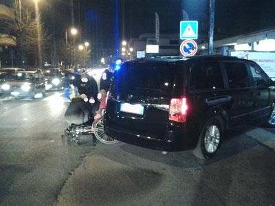La Polizia Locale di Ciampino denuncia e ritira la patente ad un ciclista ubriaco che causa incidente stradale