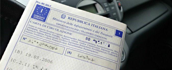 Dal 3 novembre sulla carta di circolazione va registrato il conducente abituale. Ecco cosa cambia
