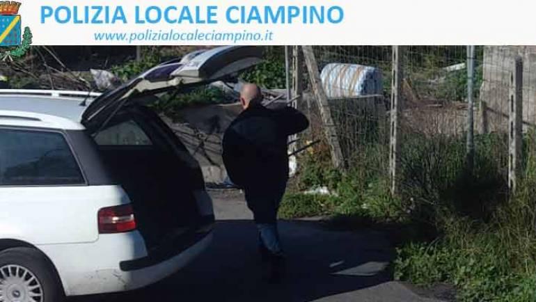 """Ciampino. Le telecamere della Polizia Locale smascherano i """"furbetti della mondezza"""""""