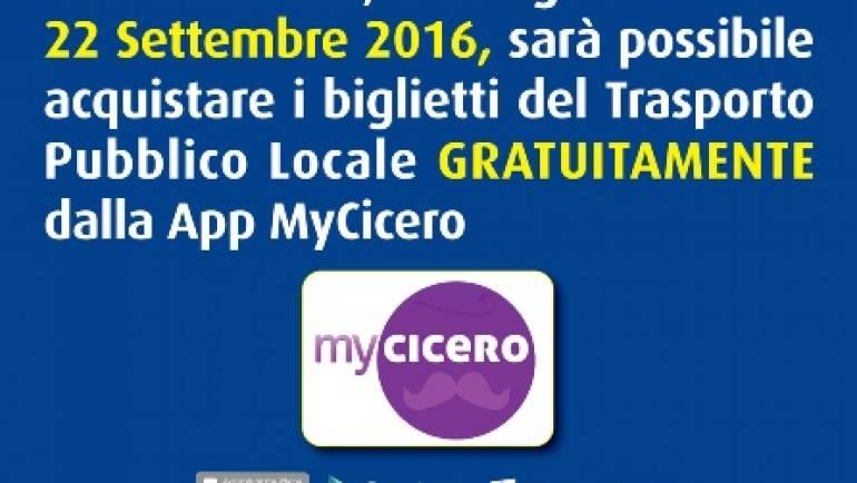 Settimana Europea della Mobilità – Biglietti Trasporto Pubblico Gratuiti