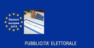 Elezioni 2019. La propaganda elettorale.