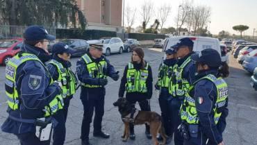 """Progetto """"Ciampino Sicura"""": intensificati i controlli in materia di sicurezza urbana e polizia stradale."""