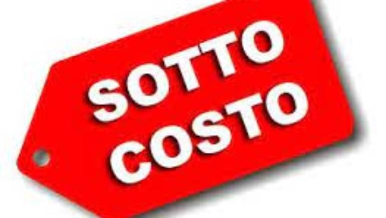 Sottocosto irregolare: scatta la sanzione fino a tremila euro per un supermercato di Ciampino.
