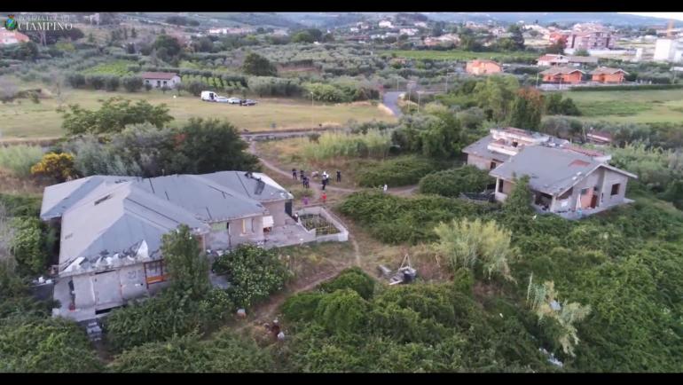 Sgomberato insediamento abusivo zona Valle Copella