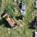 Reparto Volo e Polizia Ambientale: individuato deposito abusivo di rifiuti nel centro abitato.